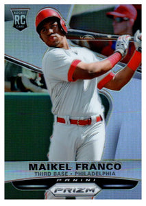2015 Panini Prizm Maikel Franco Refractor Rookie Card Philadelphia Phillies - JM Collectibles