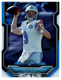 2015 Bowman Matthew Stafford Blue Die Cut #D/99 Detroit Lions - JM Collectibles
