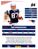 2010 Donruss Rob Gronkowski Rated Rookie Card New England Patriots - JM Collectibles