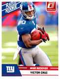 2010 Donruss Victor Cruz Rated Rookie Card New York Giants - JM Collectibles