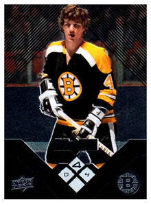 2008-09 Upper Deck Bobby Orr Black Diamond Quad Boston Bruins - JM Collectibles