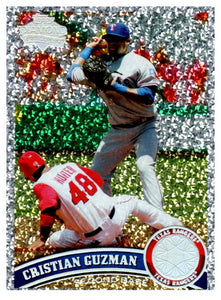 2011 Topps Cristian Guzman Diamond Anniversary Collection Texas Rangers - JM Collectibles