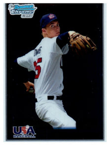 2010 Bowman Chrome Henry Owens USA Baseball Rookie Card Boston Red Sox - JM Collectibles