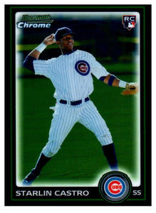 2010 Bowman Chrome Starlin Castro Rookie Card Chicago Cubs - JM Collectibles
