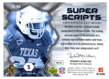 2007 Upper Deck Spx Michael Griffin Super Scripts Autograph Card Tennessee Titan - JM Collectibles