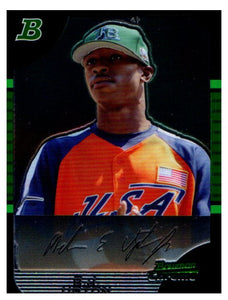 2005 Bowman Chrome Draft B.J. Upton Rookie Tampa Bay Rays - JM Collectibles