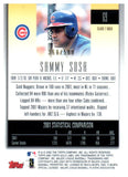 2002 Topps Gold Label Sammy Sosa Class 1 Gold #D/500 Chicago Cubs - JM Collectibles