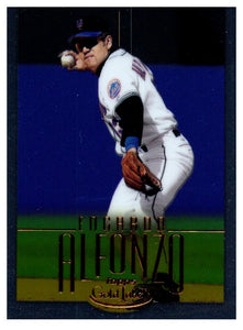 2002 Topps Gold Label Edgardo Alfonzo Class 1 Gold #D/500 New York Mets - JM Collectibles