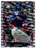 2013 Bowman Michael Bourn Silver Cracked Ice Cleveland Indians - JM Collectibles