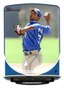 2013 Bowman Prospect Yordano Ventura Kansas City Royals - JM Collectibles
