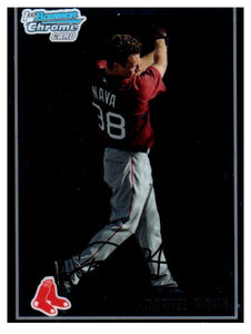 2010 Bowman Chrome Prospect Daniel Nava Rookie Card Boston Red Sox - JM Collectibles