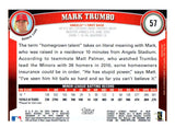 2011 Topps Mark Trumbo Rookie Card Anaheim Angels - JM Collectibles