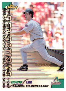 1999 Topps Finest Travis Lee Refractor Arizona Diamondbacks - JM Collectibles