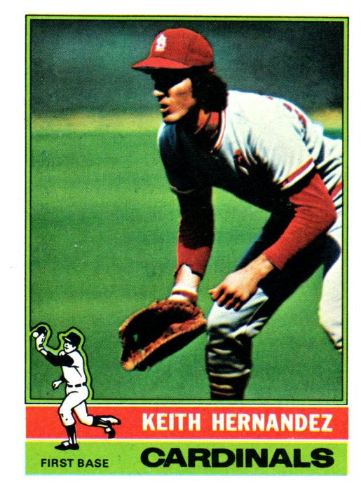 1976 Topps Keith Hernandez St Louis Cardinals - JM Collectibles