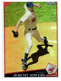 2009 Topps Chrome Jeremy Sowers Refractor Cleveland Indians - JM Collectibles