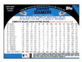 2009 Topps Chrome Johnny Damon Refractor New York Yankees - JM Collectibles