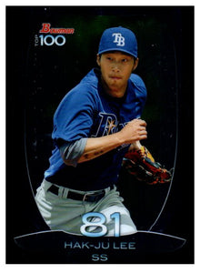 2013 Bowman Top 100 Prospects Hak-Ju Lee Tampa Bay Rays - JM Collectibles