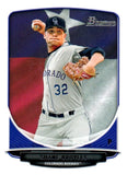 2013 Bowman Prospects Shane Broyles Hometown Flag Colorado Rockies - JM Collectibles