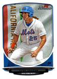 2013 Bowman Prospect Cory Vaughn Hometown Flag New York Mets - JM Collectibles