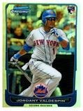 2012 Bowman Chrome Jordany Valdespin Rookie Refractor New York Mets - JM Collectibles