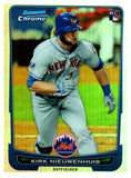 2012 Bowman Chrome Kirk Nieuwenhuis Rookie Refractor New York Mets - JM Collectibles