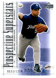 2001 UD Pros & Prospects Brian Lawrence /1250 San Diego Padres - JM Collectibles