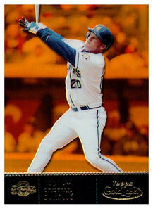 2001 Topps Gold Label Class 1 Jeromy Burnitz /999 Milwaukee Brewers - JM Collectibles