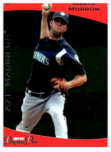 2006 Tristar Pro Debut Brandon Morrow Seattle Mariners - JM Collectibles