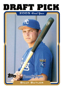 2005 Topps Draft Pick Billy Butler Kansas City Royals - JM Collectibles