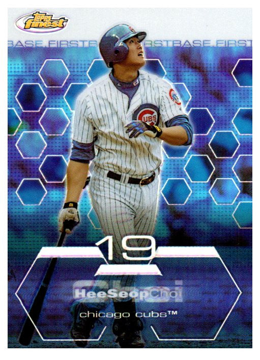 2003 Topps Finest Hee Seop Choi Refractor Chicago Cubs - JM Collectibles