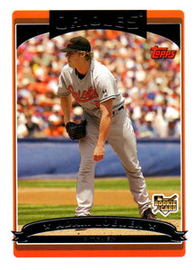 2006 Topps Update Adam Loewen Rookie Card Baltimore Orioles - JM Collectibles