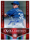 2012 Elite Extra Edition Zach Lovvorn Autograph /592 Kansas City Royals - JM Collectibles