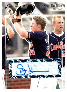 2007 Just Minors Sean Doolittle Autograph Card Oakland Athletics - JM Collectibles