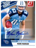 2010 Donruss Marc Mariani Rookie SP Autograph Card Tennessee Titans - JM Collectibles