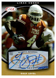 2008 Sage Limas Sweed Gold Level Autograph Card /200 Pittsburgh Steelers - JM Collectibles