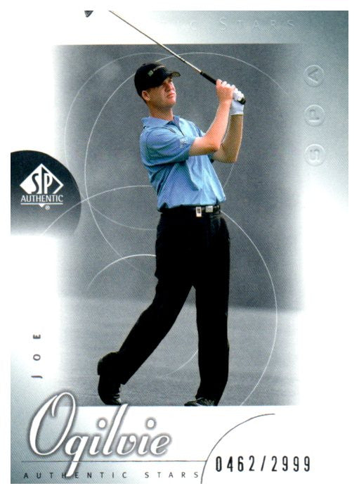 2001 SP Authentic Joe Ogilvie Rookie Golf Card /2999 - JM Collectibles