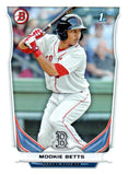 2014 Bowman Prospects Mookie Betts Boston Red Sox - JM Collectibles