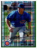 2010 Bowman Chrome Justin Bour Green Refractor Rookie Card Chicago Cubs - JM Collectibles