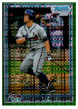 2010 Bowman Chrome Riaan Spanjer Furstenburg Green Refractor Rookie Card Braves - JM Collectibles