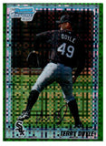 2010 Bowman Chrome Terry Doyle Green Refractor Rookie Card Chicago White Sox - JM Collectibles