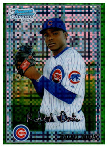2010 Bowman Chrome Rafael Dolis Green Refractor Rookie Card Chicago Cubs - JM Collectibles
