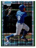 2010 Bowman Chrome Salvador Perez Green Refractor Rookie Card Kansas City Royals - JM Collectibles