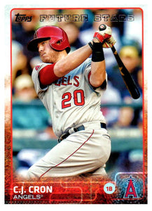 2015 Topps C.J. Cron Future Stars Anaheim Angels - JM Collectibles