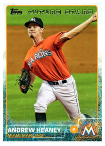 2015 Topps Andrew Heaney Future Stars Miami Marlins - JM Collectibles