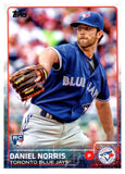 2015 Topps Daniel Norris Rookie Card Toronto Blue Jays - JM Collectibles