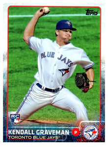 2015 Topps Kendall Graveman Rookie Card Toronto Blue Jays - JM Collectibles