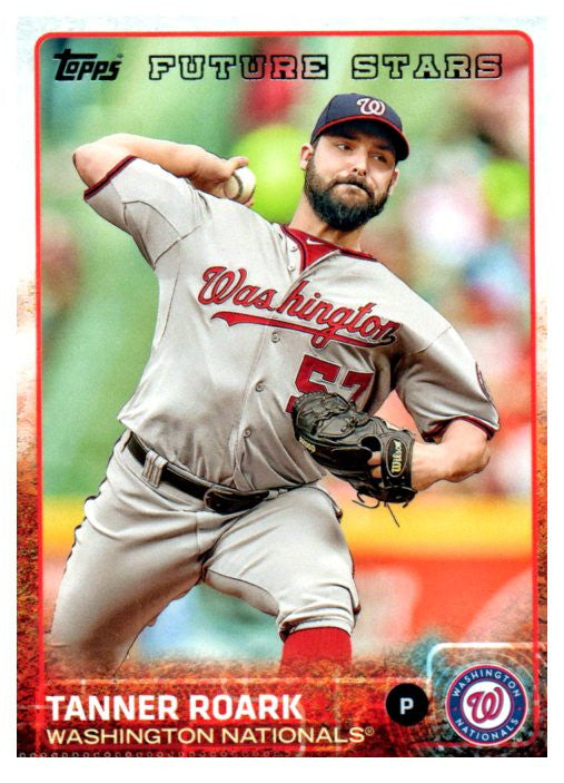 2015 Topps Tanner Roark Future Stars Washington Nationals - JM Collectibles
