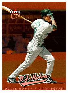 2005 Ultra All-Rookie B.J. Upton Rookie Card Tampa Bay Rays - JM Collectibles