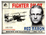 2008 UD SP Legendary Cuts Red Baron /550 Fighter Pilot Manfred Von Richtofen - JM Collectibles