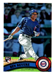 2011 Topps Ben Revere Rookie Card Minnesota Twins - JM Collectibles